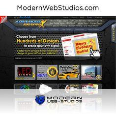 Graphic Designer Website.  To learn more visit us at http://modernwebstudios.com/