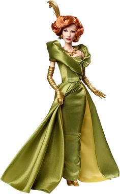 Cinderella Barbie 2015 Movie Dolls Released - Lady Tremaine the Stepmother