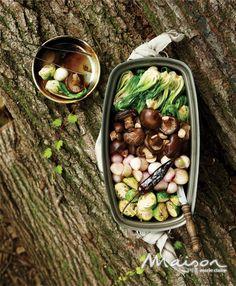 표고버섯 요리