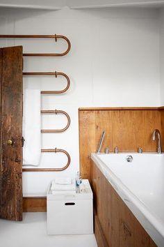 Bathroom Towels, Small Bathroom, Bathroom Ideas, Natural Bathroom, White Bathrooms, Attic Bathroom, Luxury Bathrooms, Dream Bathrooms, Modern Bathroom