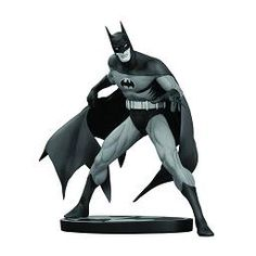 Batman Black and White Statue Marshall Rogers