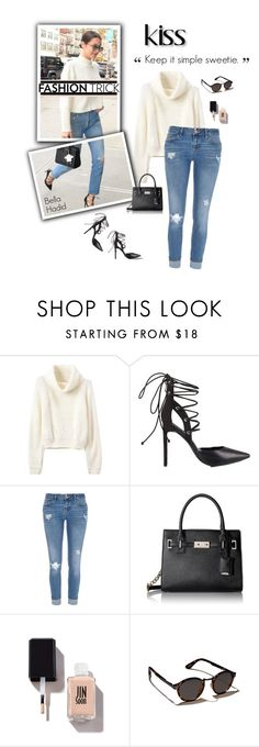 """""""Keep It Simple Sweetie."""" by modernmoda ❤ liked on Polyvore featuring мода, Rebecca Stella For Nelly, River Island, Nine West и Abercrombie & Fitch"""