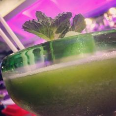 This is a delicious frozen Mojito!