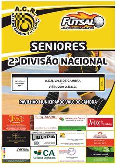 ACR Vale de Cambra - Senoires  > 29 Novembro 2015 @ Pavilhão Municipal de Vale de Cambra