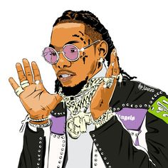 "Stream Offset Type Beat-""Kulture"" by Hendrix Beats from desktop or your mobile device Migos Wallpaper, Tupac Wallpaper, Rap Wallpaper, Dope Cartoon Art, Dope Cartoons, Arte Do Hip Hop, Hip Hop Art, Arte Dope, Dope Art"
