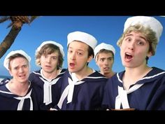 One Direction - Kiss You Parody!! Key Of Awesome #67. Haha, the actual version makes more sense now.