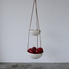 Two Tiered Hanging Fruit Basket