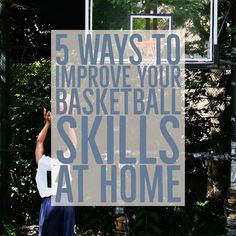 Have you ever asked How to Improve Basketball Skills at Home? If you did, here is our list of 5 things you can do to improve your bball skills while at home. Basketball Skills, 5 Ways, Improve Yourself, Bench, Star, Sports, Home, Hs Sports, Ad Home
