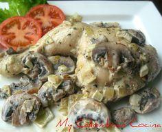 My Colombian Cocina - Pollo en Salsa de Champiñones