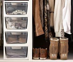Shoe  Wardrobe Storage Drawers - Small