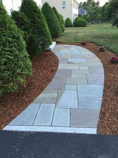 Walkway and Patio Design in MA — Natural Path Landscaping