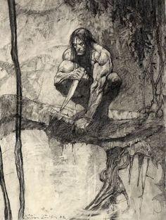 Tarzan by Simon Bisley