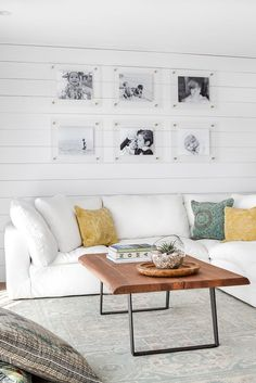Refresh your favorite space with a Float Frame (or two!) from Artifact Uprising. Image by @chelsealaureninteriors