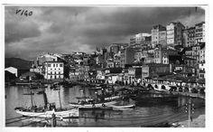 Vigo. El Berbés, tomada en 1920