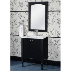 InFurniture IN 33 Series Arched Top Wall Mirror & Reviews | Wayfair