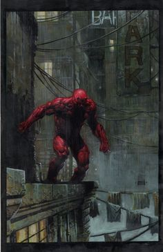 Daredevil by David Finch/Search//Home/ Comic Art Community GALLERY OF COMIC ART