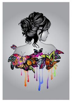 Discover thousands of Premium vectors available in AI and EPS formats Girly Drawings, Cool Art Drawings, Pencil Art Drawings, Art Drawings Sketches, Girl Illustration Art, Whats Wallpaper, Wallpaper Desktop, Art Papillon, Indian Art Paintings