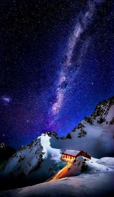 Cook, New Zealand milky Way, astrophotography The Places Youll Go, Places To See, Wonderful Places, Beautiful Places, Beautiful Scenery, Monte Everest, Landscape Photography, Nature Photography, Photos Voyages