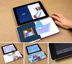 iPad sincronizado com Livro (Feito em Portugal)
