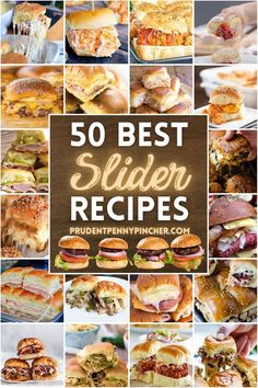 Entree Recipes, Appetizer Recipes, Beef Recipes, Cooking Recipes, Sandwich Recipes, Dinner Recipes, Cheap Party Food, Slider Sandwiches, Party
