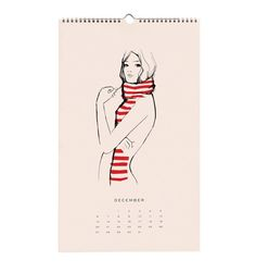 2015 Les Femmes Spiral-bound Wall Calendar