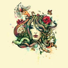Check out the design Beauty Before Death by Alice X. Zhang and Enkel Dika on Threadless