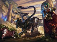 a displacer beast