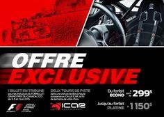 Offre DUO F1 et ICAR - Grand Prix du Canada - Formule 1 Montréal | Circuit Gilles-Villeneuve