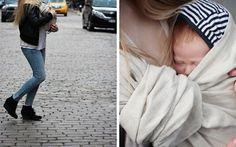 the sling diaries: belle and family babywearing beauty! #sakurabloom