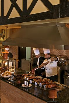 Chefs at work at Ocean Blue & Sand resort in Punta Cana, Dominican Republic.