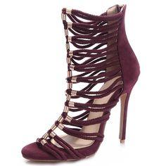 Open Toe Hollow Heel Covering Sandals