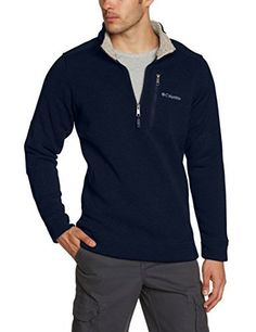 "Product review for Columbia Men's Terpin Point II Half-Zip Pullover Sweater.  Heathered sweater fleece gives this easy to wear half zip a refined aesthetic that's complemented by the clean design and dapper patches at the elbow. A zipper at the chest secures small valuables   	 		 			 				 					Famous Words of Inspiration...""If you raise your children to feel..."
