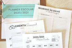 Planner Escolar 2020/2021 - Conxita Maria - A Arrumadinha | Organização