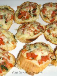 Fresh Tomato and Basil Bruschetta Recipe