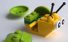 LEGO snail instructions