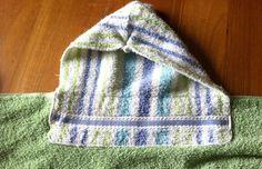 DIY Tutorial DIY Hooded Towel / DIY Hooded Beach Towel - Bead&Cord