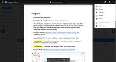 Google Docs Preview UI