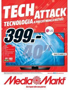 Tech attack, tecnologia a preços nunca vistos! 01/10/2015 a 07/10/2015 Media Markt