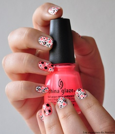 Polka dot / China Glaze #nail #nails #nailart