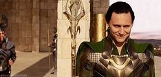 Loki's thoughts at this time can't be of flowers...<--- No, probably of death and destruction and world domination...