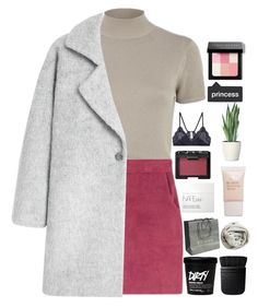 """""""eating expensively"""" by samiikins ❤ liked on Polyvore featuring River Island, MANGO, Brunello Cucinelli, Vanessa Bruno, NARS Cosmetics, Gucci, Pieces and Bobbi Brown Cosmetics"""
