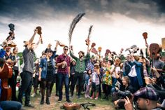 Ohana Ukuleles are loved in Argentina so much that fans busted out an Ohana Ukuleles flash mob!