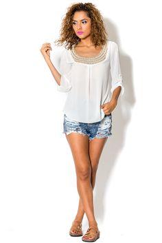 Arris Fashion - White Night Blouse, $27.00 (http://www.arrisfashion.com/white-night-blouse/)
