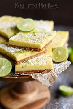 These Irresistible Key Lime Pie Bars are made with a graham cracker crust and fresh key lime juice. These bars are bound to become your new favorite!