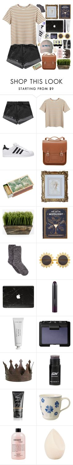 """""""but i hate how good this citrus tastes"""" by deep-breaths ❤ liked on Polyvore featuring Chicnova Fashion, The Cambridge Satchel Company, Shandell's, Charter Club, H&M, Byredo, NARS Cosmetics, Cyan Design, Villeroy & Boch and philosophy"""