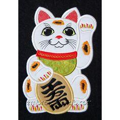 Maneki Neko Art | Maneki Neko 0002 applique