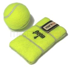 LOVE THIS!!!!!:D Recycled Tennis Ball iPhone/Mobile Phone Sleeve