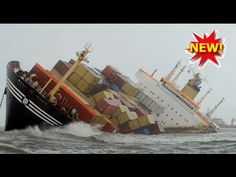 Stolt Commitment tanker ship collision with cargo ship Thorco Cloud in Singapore - YouTube
