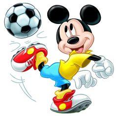 Mickey jugando al futbol Arte Do Mickey Mouse, Mickey Mouse Y Amigos, Mickey Mouse Drawings, Mickey E Minie, Mickey Mouse Cartoon, Mickey Mouse And Friends, Disney Mickey Mouse, Walt Disney, Disney Art
