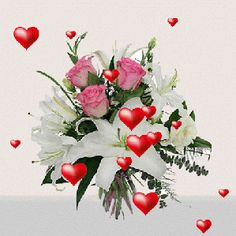 Image Blog, Types Of Flowers, Happy Mothers Day, Floral Wreath, Lily, Animation, Blessing, Deco, Night